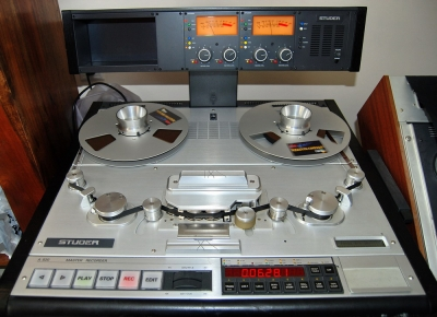 アナログ・テープマシンについて